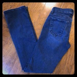 Lucky Brand Dark Wash Brooke Boot Jeans 0/25 R